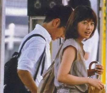 生野陽子アナ 中村光宏アナ ツーショット写真 2010年1