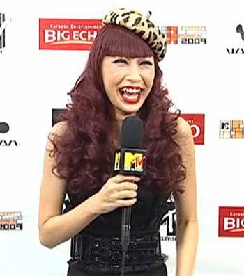 MTV STUDENT VOICE AWARDS 2009 中島美嘉 劣化