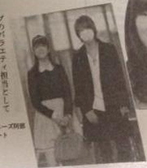 村重さんと阿部さんのツーショット写真