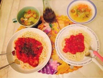 木下優樹菜の手料理1
