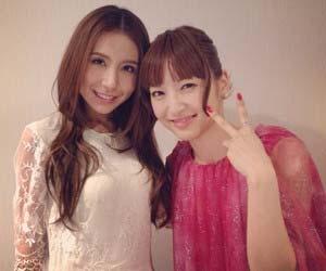 神田沙也加とMay J.のツーショット写真