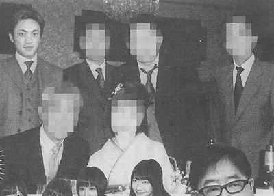 芝幸太郎と暴力団の写真