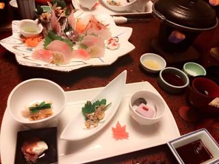 きゃりー旅館の料理