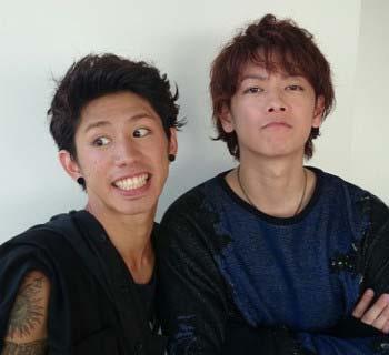 Takaと佐藤健のツーショット写真