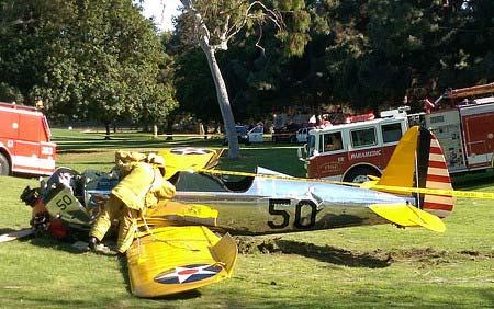 ハリソンフォード事故機サイド