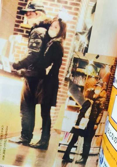 DAIGOと北川景子の女性セブンツーショット写真