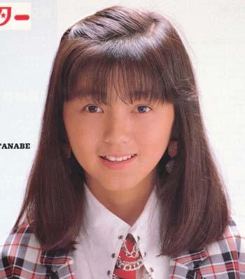 渡辺満里奈おニャン子クラブ1980年代