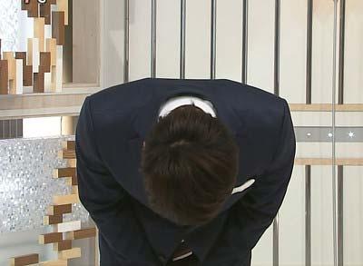 日本テレビ上重聡アナウンサーが『スッキリ!!』で謝罪1