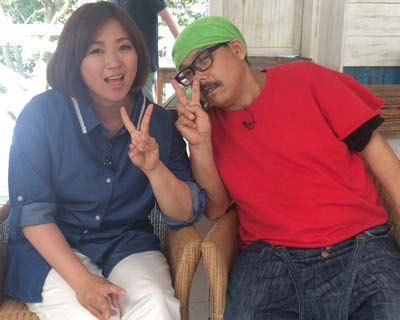 林下清志(ビッグダディ)と美奈子のツーショット写真2
