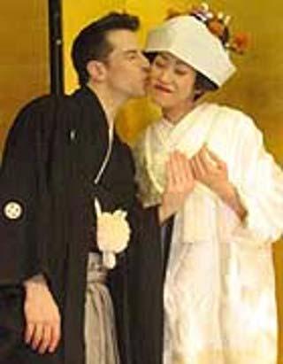 パックンと嫁・鯉沼芽衣のツーショット写真