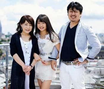 SKE48木崎ゆりあと家族の写真