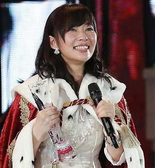 【第7回AKB48選抜総選挙】1位に返り咲き喜ぶHKT48指原莉乃