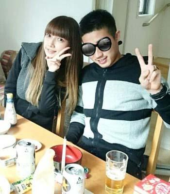 後藤真希と夫の写真