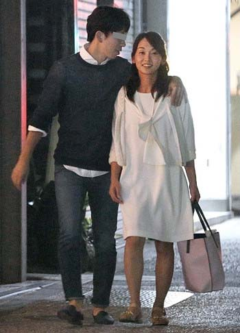 TBS出水麻衣アナとイケメン彼氏のツーショット写真