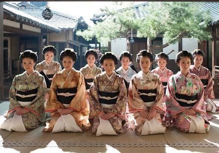 乃木坂46の十福神がNHK大河ドラマに出演しヴィジュアルを披露