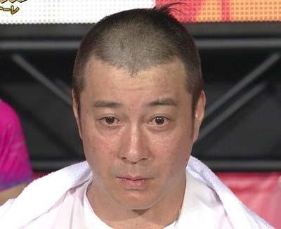 『FNS27時間テレビ』で丸刈りになった極楽とんぼの加藤浩次