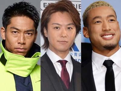 AKIRA,TAKAHIRO、関口メンディー