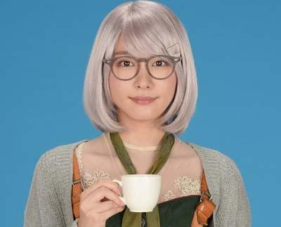 実写ドラマ『掟上今日子の備忘録』での新垣結衣のビジュアル