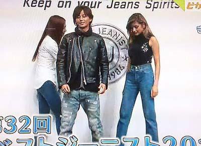 ベストジーニスト受賞のKis-My-Ft2藤ヶ谷太輔とローラ