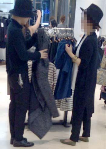 Hey! Say! JUMP山田涼介と母親のツーショット写真