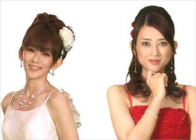『牡丹と薔薇』に出演の大河内奈々子と小沢真珠