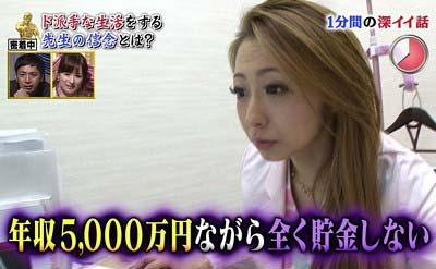 女医の脇坂英理子の年収