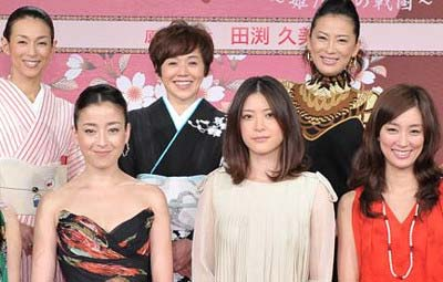 NHK大河ドラマ「江〜姫たちの戦国〜」出演者