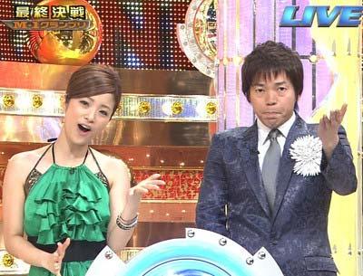 『M-1』司会の上戸彩と今田耕司
