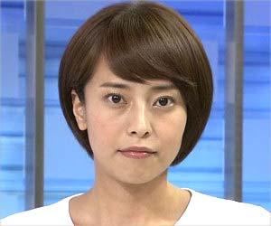 日本テレビの上田まりえアナウンサー