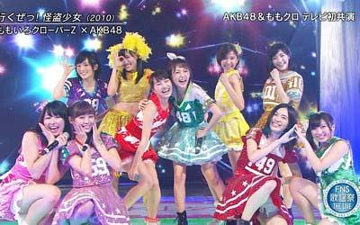 AKB48とももクロもコラボ