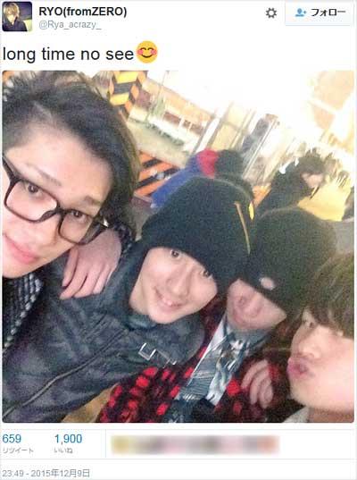 元Hey! Say! JUMP森本龍太郎の新グループZEROのメンバー写真1枚目