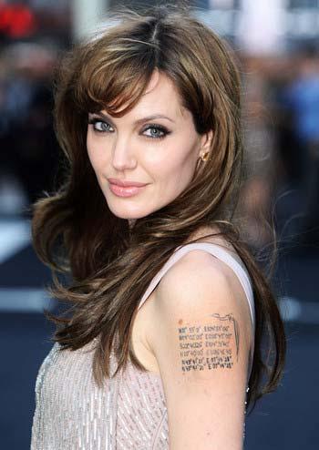 昔のアンジーことアンジェリーナ・ジョリー(Angelina Jolie)2枚目