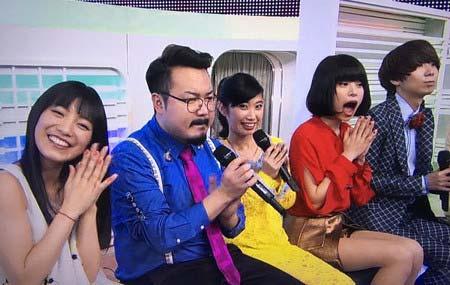 ミュージックステーションでゲスの極み乙女・川谷絵音とmiwaが写ったシーン