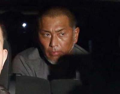 東京警察病院で検査を受けた清原和博容疑者