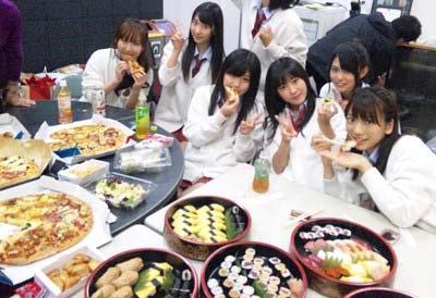 AKB48の豪華なケータリング食事2枚目