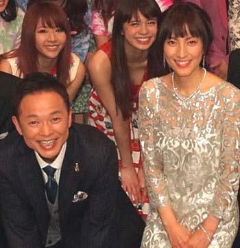 ミュージックフェアの7代目司会者を務めた恵俊彰と鈴木杏樹
