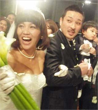 湘南乃風・若旦那とMINMIの結婚式