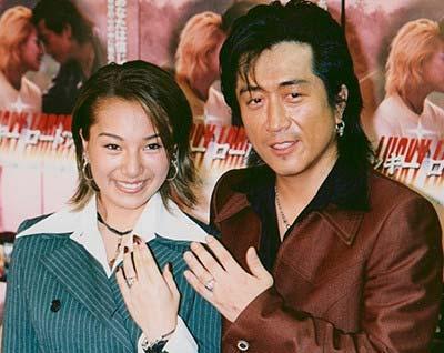高橋ジョージと三船美佳が結婚した当時のツーショット写真