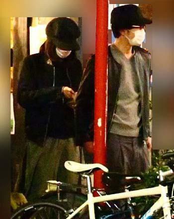 Hey! Say! JUMP中島裕翔と吉田羊のプライベートツーショット写真