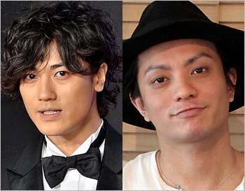 元KAT-TUNの赤西仁と田中聖