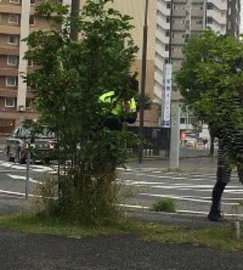 スマップの中居正広?が熊本でタバコポイ捨て疑惑の瞬間