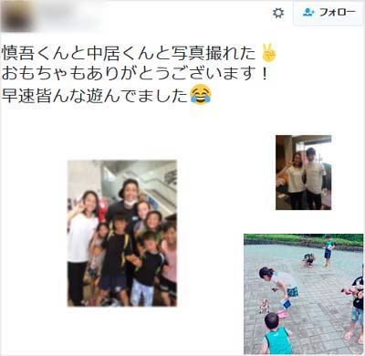 熊本地震の被災者の方による支援物資感謝のツイート3