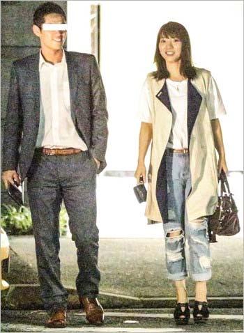 高城亜樹と彼氏のデート