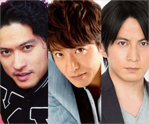 TOKIOの長瀬智也、SMAPの木村拓哉、V6の岡田准一