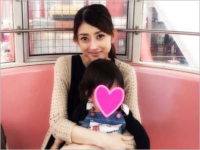 小沢真珠と長女