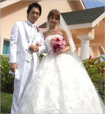 小倉優子と菊池勲の結婚式