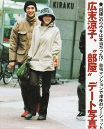 広末涼子と伊勢谷友介のツーショットデート写真
