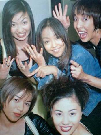 安室奈美恵とMAXのメンバー