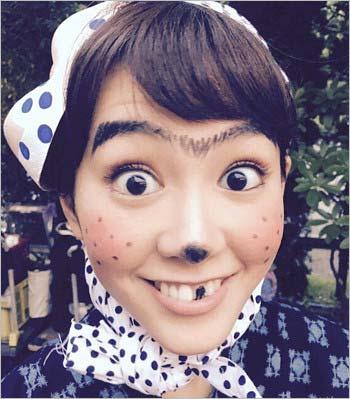 どじょうすくいの桐谷美玲