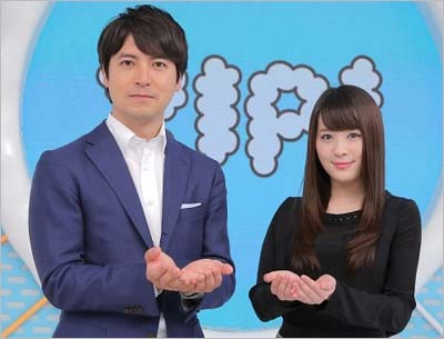 『ZIP!』総合司会の桝太一アナウンサーと北乃きい